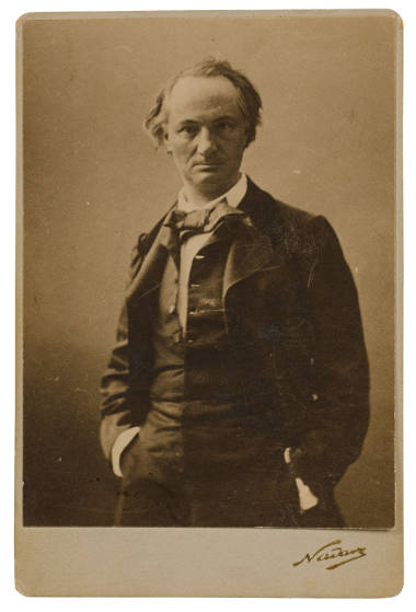 picture of charles baudelaire by nadar